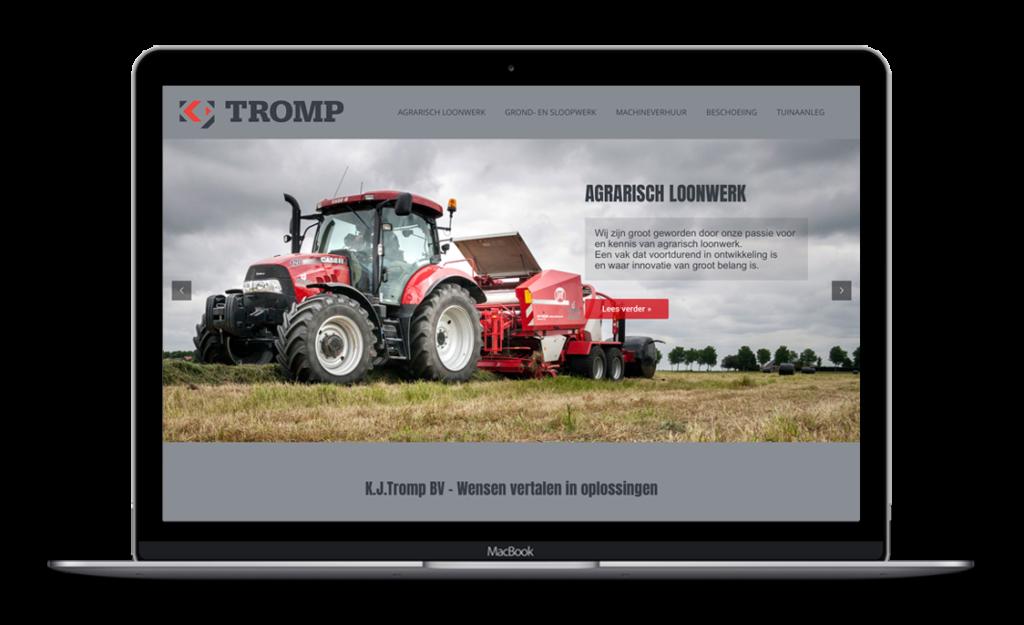 Website voor KJTromp