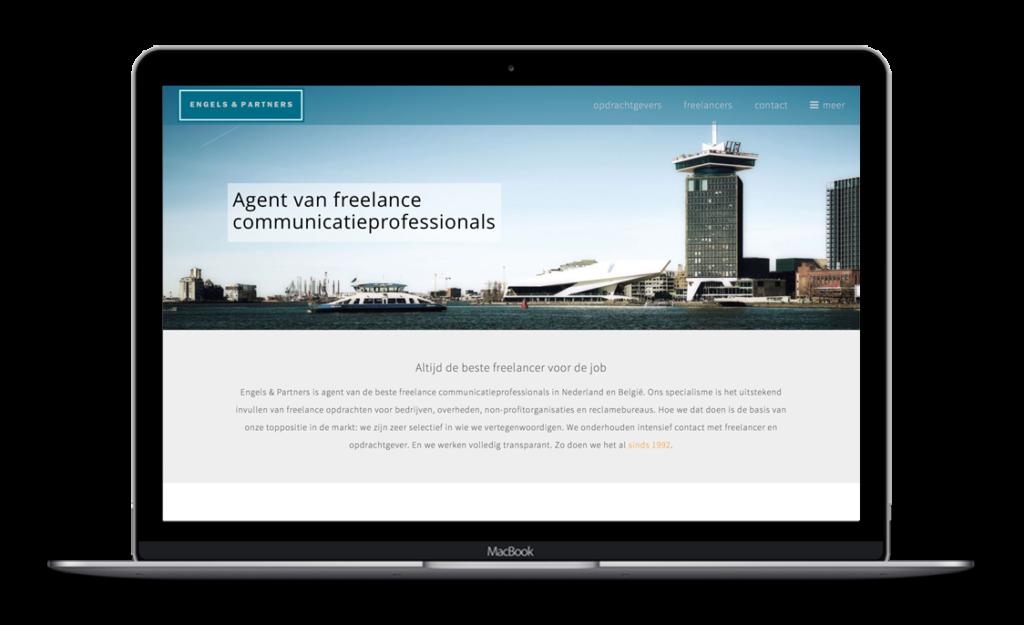 Website voor Engels & Partners